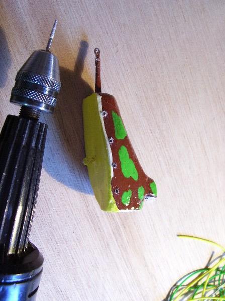 realisation d'un popper grenouille ...3 me PARTIE Dossie84