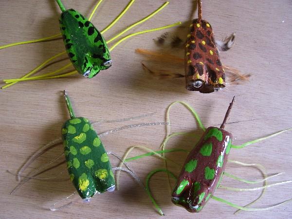realisation d'un popper grenouille ...3 me PARTIE Dossie85