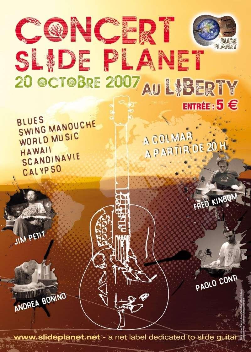 Concert Slide Planet - Colmar 20/10/07 Affich10
