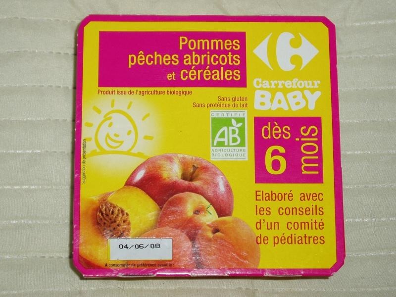 Compotes Bio pour bébé Compot11