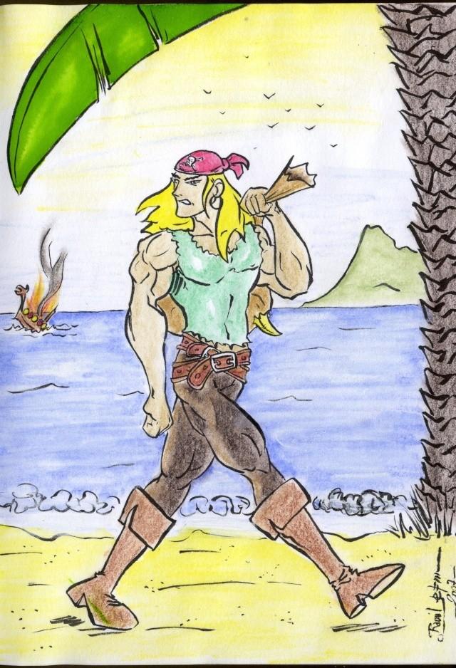 "[Illustration] ""Pirates et Corsaires"" (14.12) Img05210"
