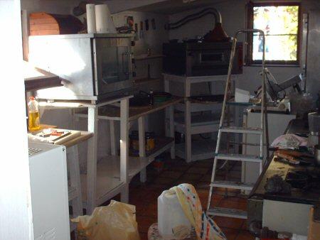 the kitchen Hpim4344