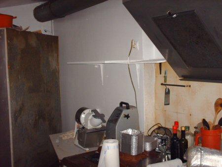 the kitchen Hpim4413