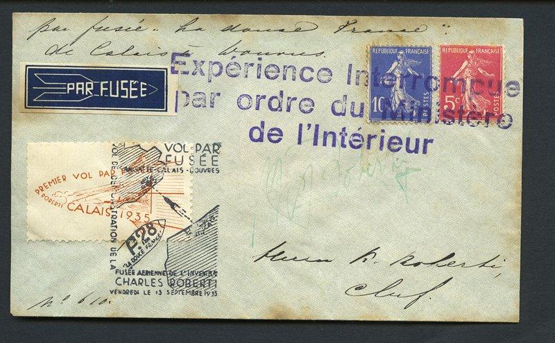Fusées postales Robert10