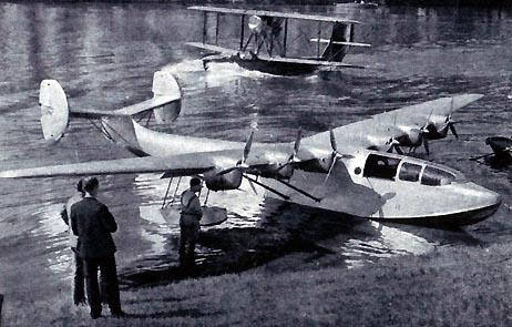 Hydravions Potez-CAMS 160 & 161 Transatlantique Super-10