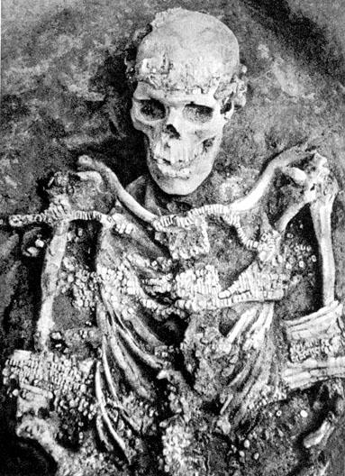 Les sépulture de Sungir. Sungir10