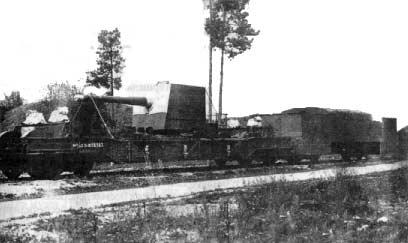 L'Artillerie Lourde sur Voie Ferrée 1305510