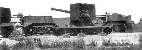 L'Artillerie Lourde sur Voie Ferrée 1524510