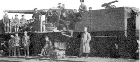L'Artillerie Lourde sur Voie Ferrée 152kan10