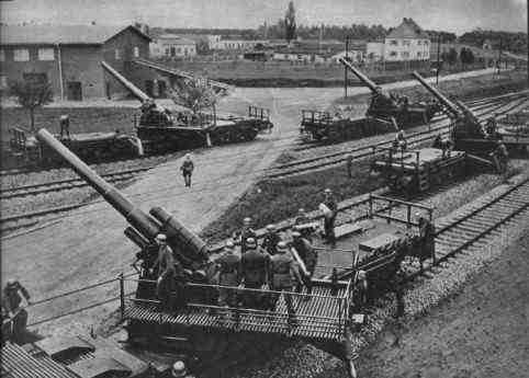 L'Artillerie Lourde sur Voie Ferrée 15cmk10