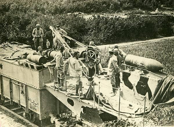 L'Artillerie Lourde sur Voie Ferrée 305_9310