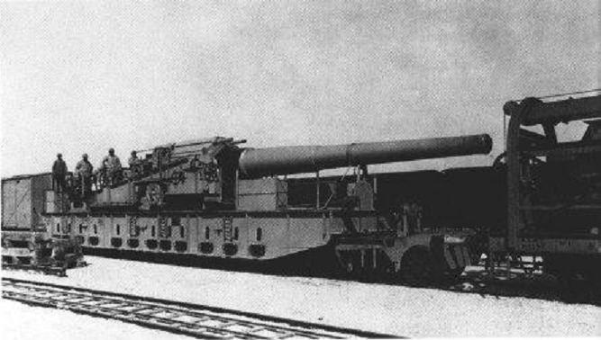 L'Artillerie Lourde sur Voie Ferrée 320_1710
