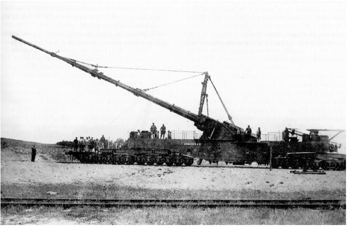 L'Artillerie Lourde sur Voie Ferrée 34022410