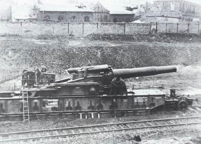 L'Artillerie Lourde sur Voie Ferrée 370_1510