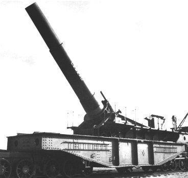 L'Artillerie Lourde sur Voie Ferrée 400_1610
