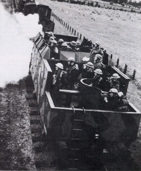 L'Artillerie Lourde sur Voie Ferrée - Page 2 Britra11