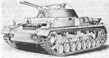 Les chars à canons doubles Kugel10