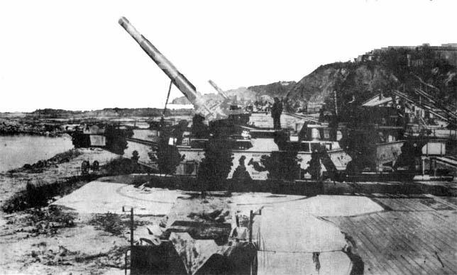 L'Artillerie Lourde sur Voie Ferrée Tm21210