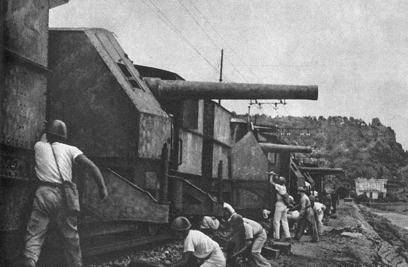 L'Artillerie Lourde sur Voie Ferrée - Page 2 Treno_10