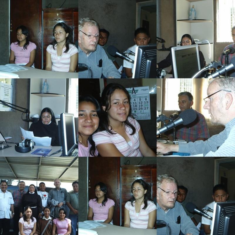Radio Estrella, 04 de octubre 2007: San Francisco. Collag10