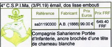 4ème COMPAGNIE SAHARIENNE PORTEE D' INFANTERIE DE MARINE Sans_t17