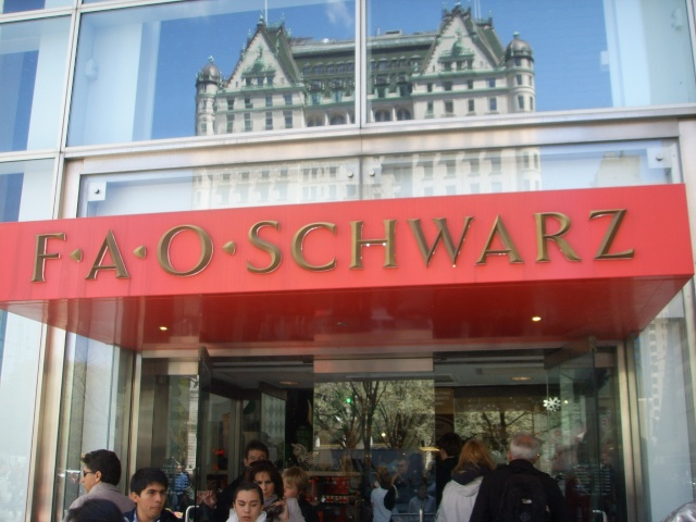 Le magasin FAO SCHWARZ de New-York Ssl19411