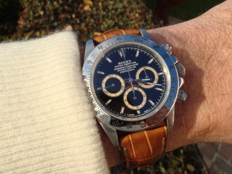 The Patrizzi pocket expert Rolex Cosmograph Daytona II Dsc05711