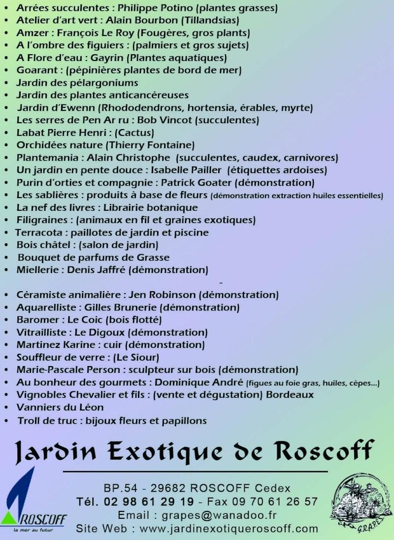 """Jardin Exotique de Roscoff """"Les Florocéanes"""" Liste_10"""