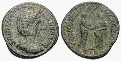 Corpus des monnaies de bronze de Tranquilline 18929010