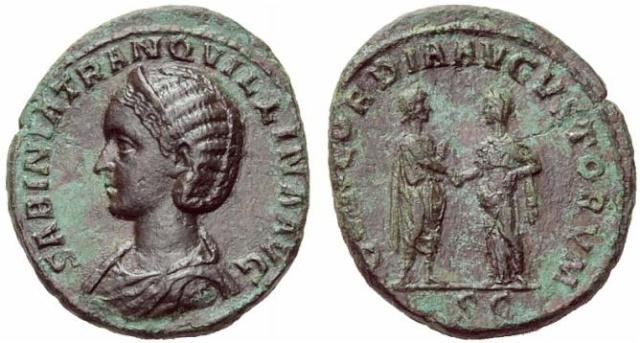 Corpus des monnaies de bronze de Tranquilline 6840410