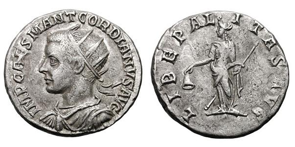 Gordian III. with OPIENS AVG Libepa11