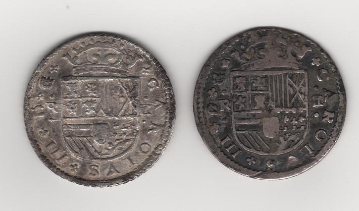 pretendiente - 2 Reales de a Dos de Carlos III el pretendiente Carlos11