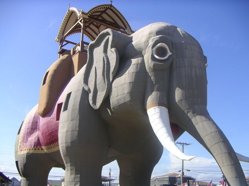 Lucy l'éléphant, Margate, New Jersey, Etats-Unis 800px-13