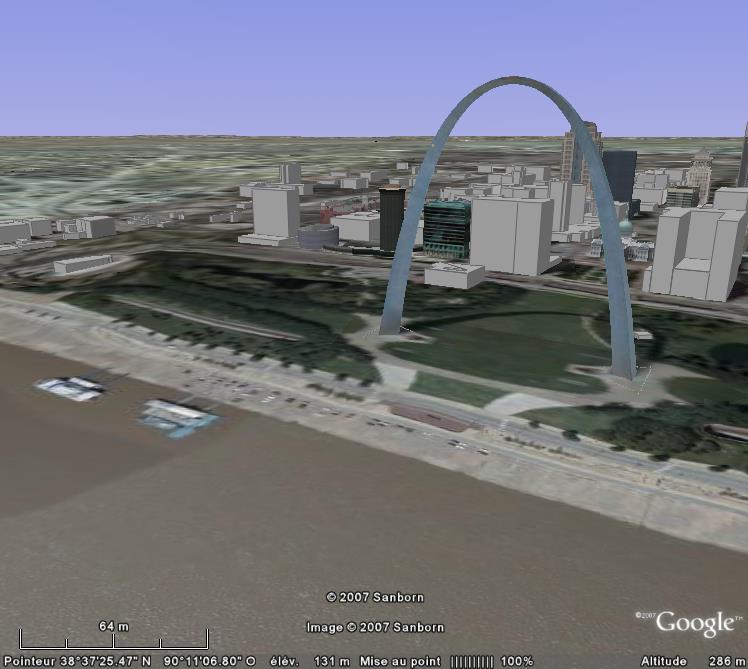 Arche St-Louis, St-Louis, Missouri, USA Angle_10
