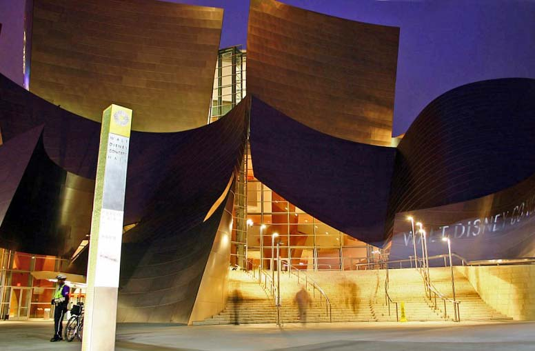 Walt Disney Concert Hall, Los Angeles, Californie - USA Disney13