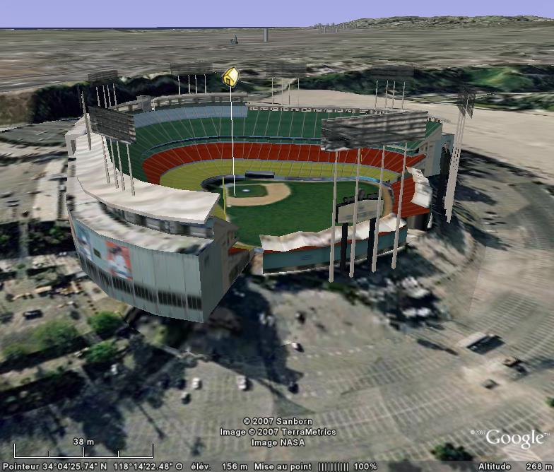 Baseball : terrains en tout genre Dodger11