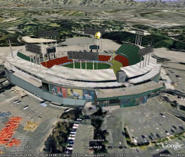 Baseball : terrains en tout genre Dodger12