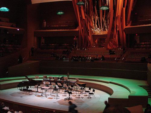 Walt Disney Concert Hall, Los Angeles, Californie - USA Wd_con10