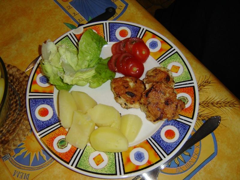 Galettes de poulet au curry et au paprika Dsc01216