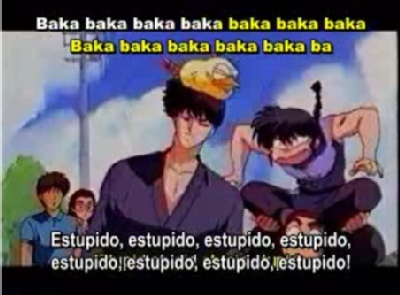 The Baka Song (Subtitles in Spanish and Karaoke Version) Captur12
