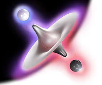 L'antimatière: Miroir de l'Univers Etom110