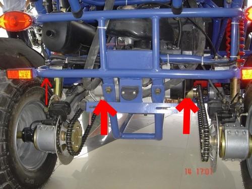 Casse roulement roue arrière Etrier10