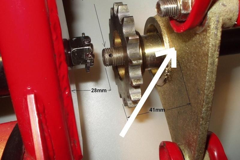 Casse roulement roue arrière Palier10