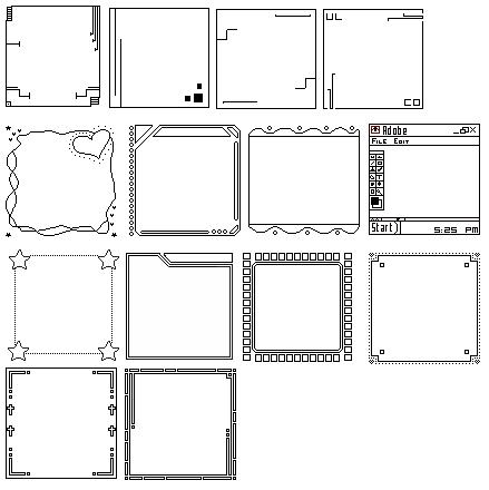 Brushes (et templates) Templa10
