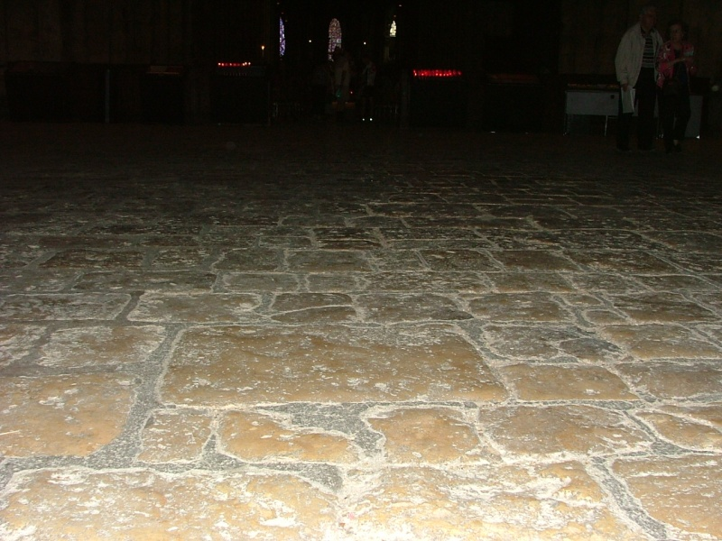 Le labyrinthe de Chartres : miroir du Sentier Photom19