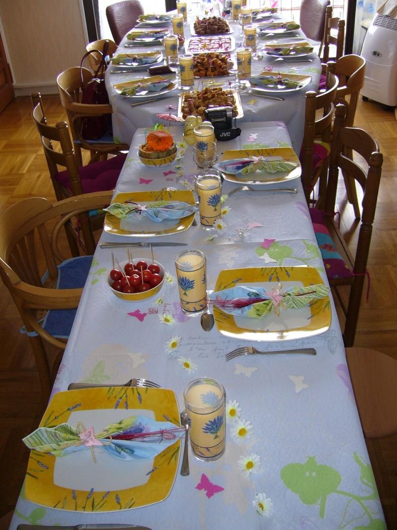 Des idées pour la table, la déco 20070510
