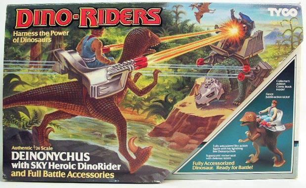 DINO-RIDERS (Tyco) 1988 31869_10