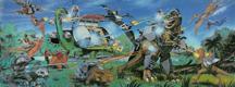 DINO-RIDERS (Tyco) 1988 Border11