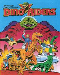 DINO-RIDERS (Tyco) 1988 Comic10