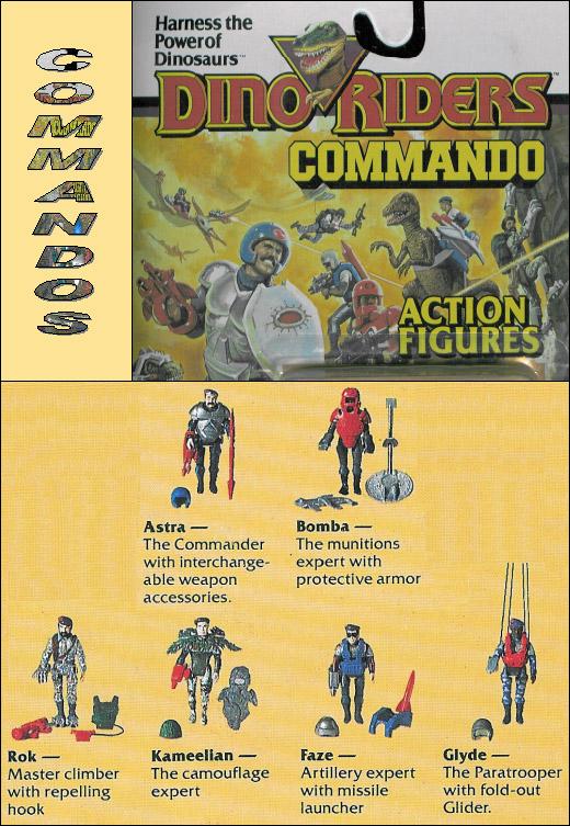 DINO-RIDERS (Tyco) 1988 Comman11